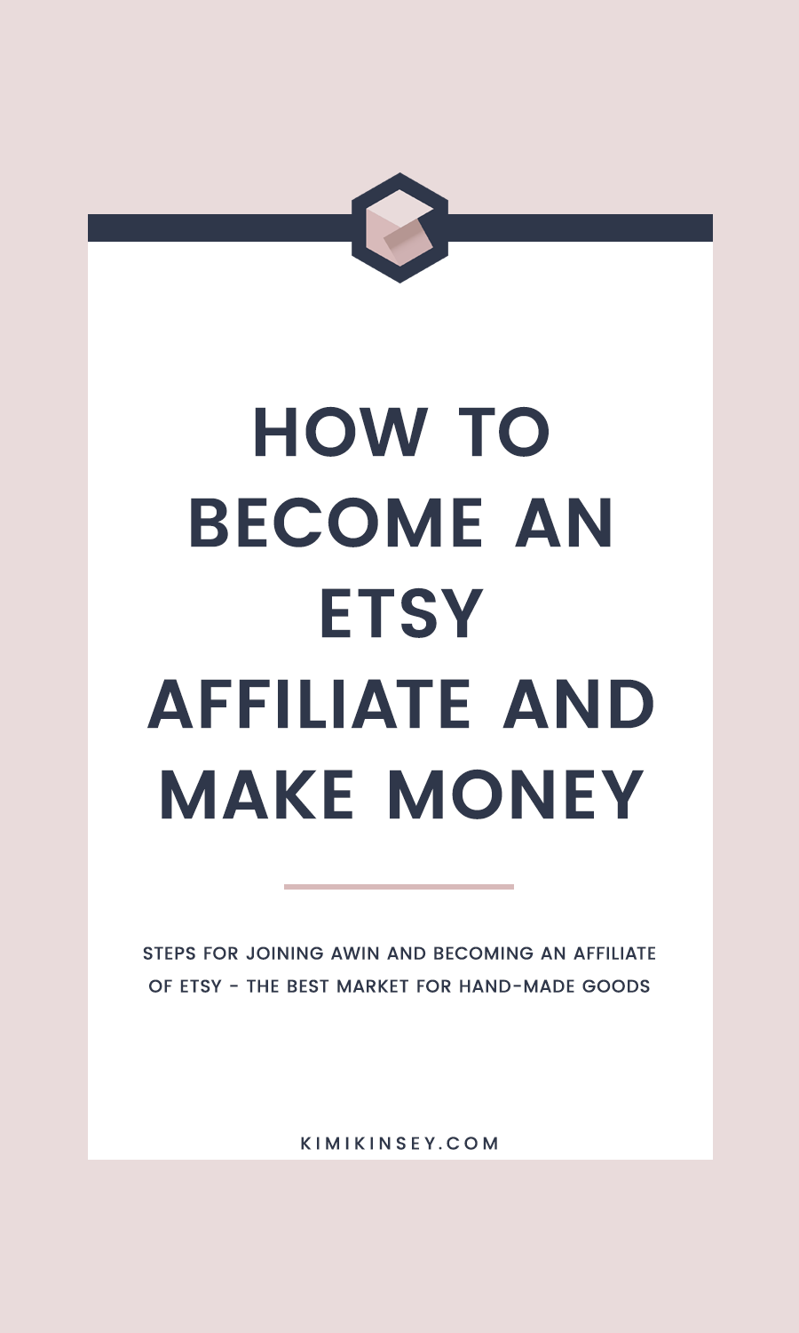 How to join the Etsy affiliate program