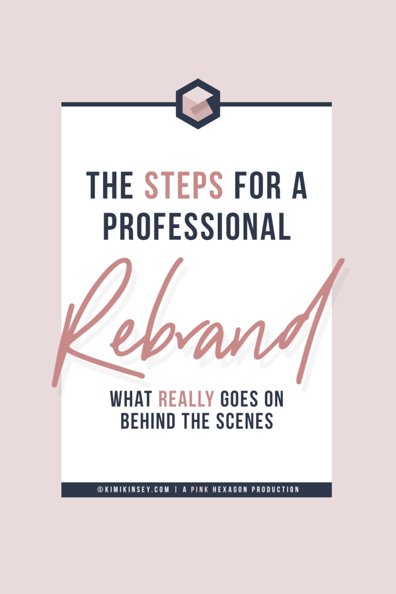 How do you rebrand your website? Go behind the scenes of what steps a professional designer takes to rebrand her business. Learn how to choose branding colors and how to create the best experience for your audience. #rebrand #brandboard #branding #design