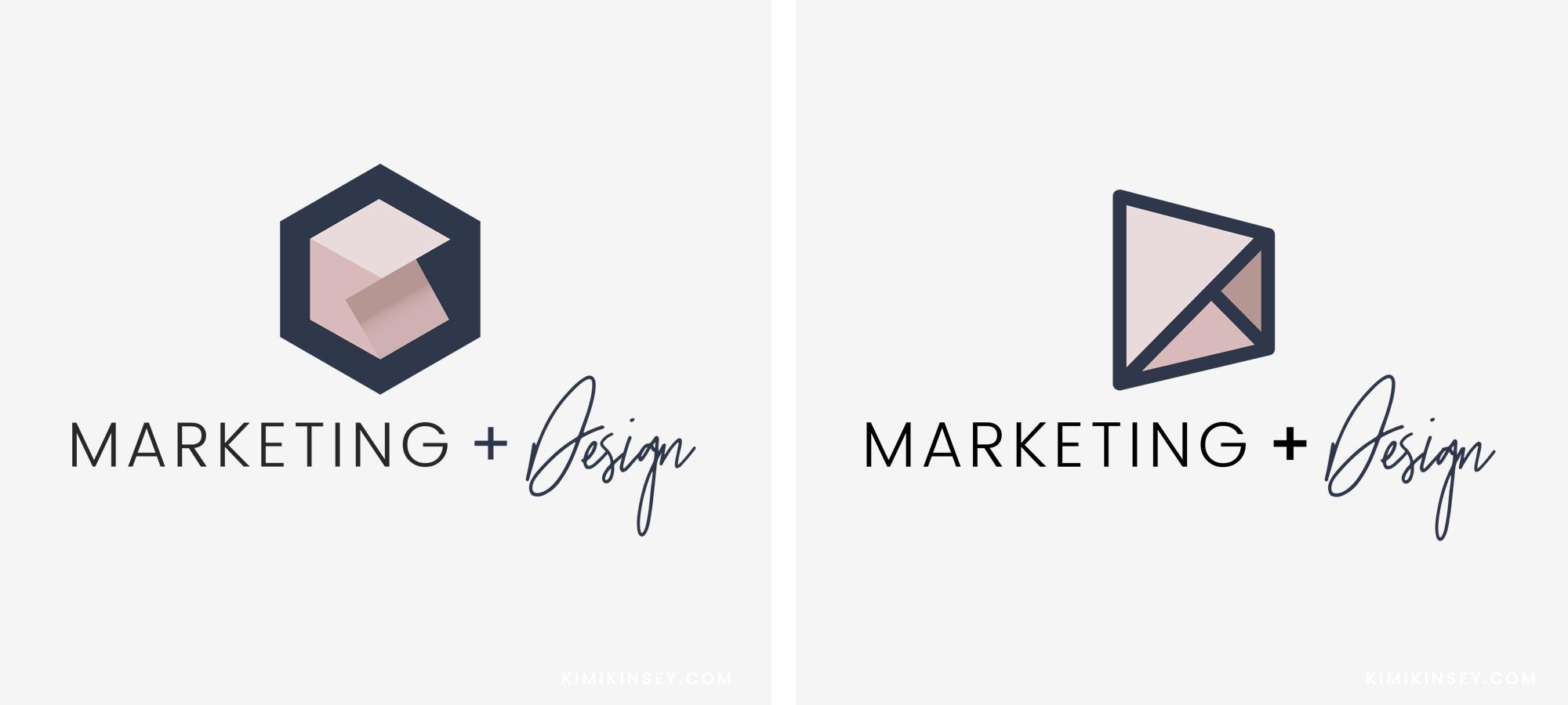 Kimi Kinsey Logo Comparison
