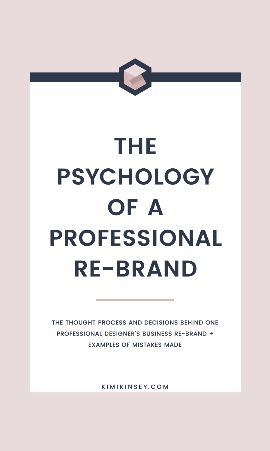 The psychology of a professional rebrand