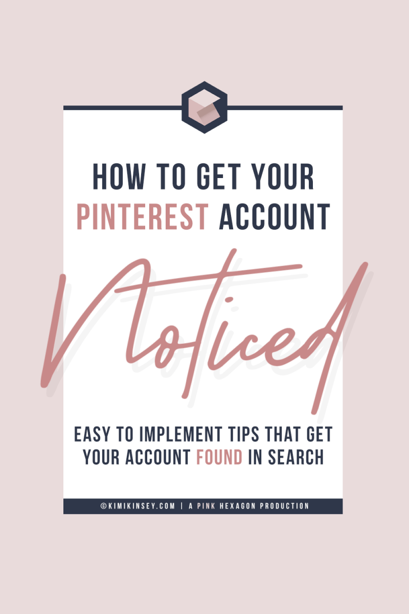 Tips to improve your Pinterest profile with small changes you need to make in order to optimize your Pinterest account so that it stands out and gets found in search. #pinteresttips #pinterestmarketing #SEO #pinterest #socialmedia #socialmediamarketing