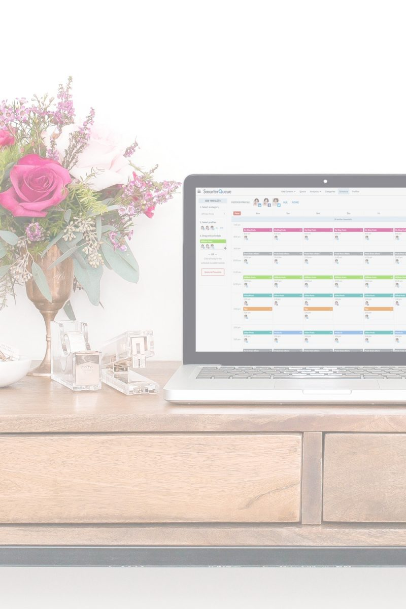 How to schedule social media when you don't have a lot of blog posts