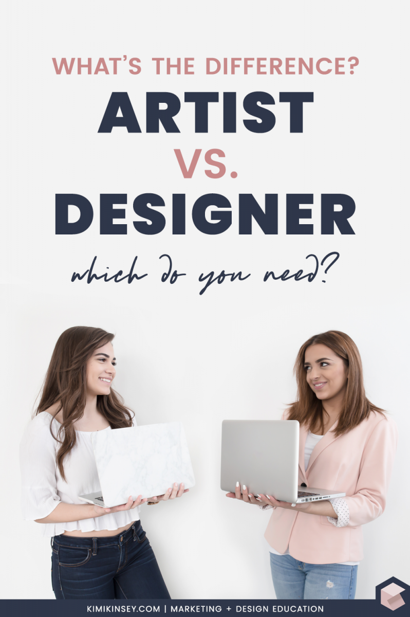 The difference between a graphic artist and a graphic designer