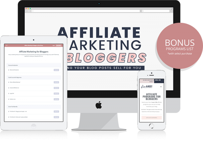 Affiliate Marketing for Bloggers Preview