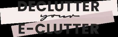 DeclutterYourEclutterLogo
