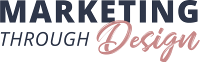 Marketing Through Design base Logo
